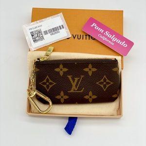 Authentic Louis Vuitton Key Pouch Monogram